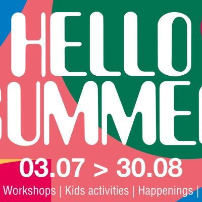 Brussel uitstap kinderen gezin familie tips buiten park spel concert voorstelling animatie Hello Summer