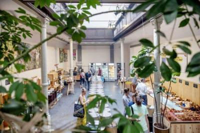 Les marchés bruxellois / Les Tanneurs - foto Sien Verstraeten (c) Muntpunt