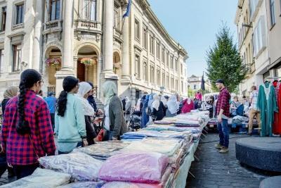 Les marchés bruxellois / Vieux-Molenbeek - foto Sien Verstraeten (c) Muntpunt