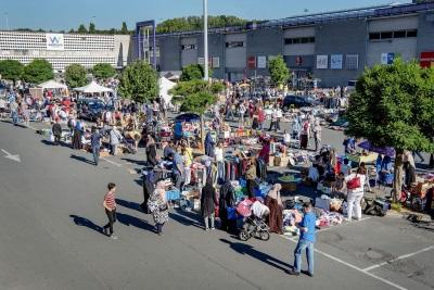 Les marchés bruxellois / Westland - foto Sien Verstraeten (c) Muntpunt