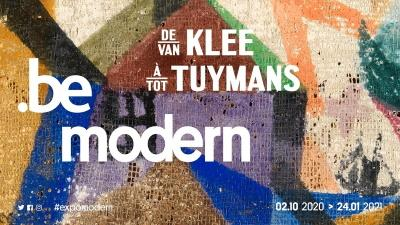 Expo BE MODERN in KMSKB