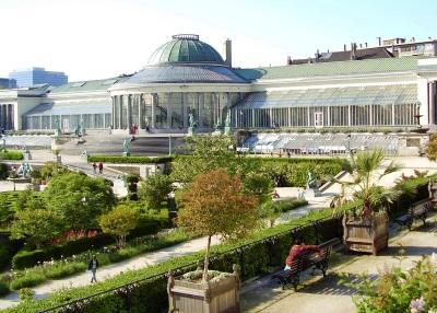 Sint-Joost-ten-Node: Terras/tuin van de Botanique