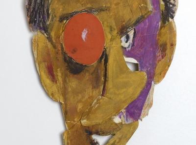 BOZAR PERSPECTIVES Marcel Iancu – Tristan Tzara mask_Rafi Venezian (c) Janco-Dada Museum, Ein Hod