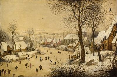 Pieter Bruegel: Winterlandschap