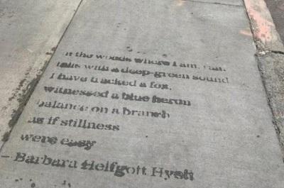Brussels Street Poetry