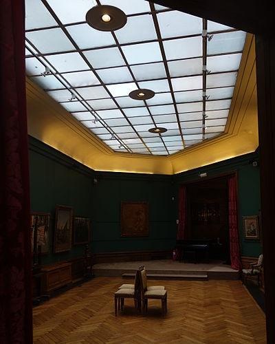 De kunstgalerij van de Brusselse mecenas Henri Van Cutsem