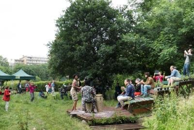 Ukkel: De tuinen van het Tillensblok