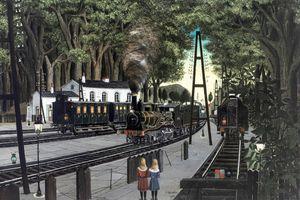 Een literaire treinreis