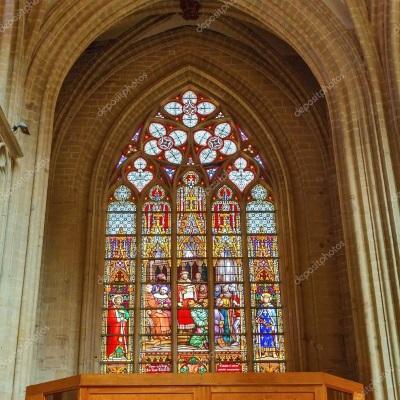 Glasramen kathedraal