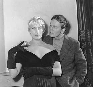 Hugo Claus en Elly Overzier