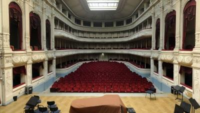 Grote concertzaal Koninklijk Conservatorium Brussel