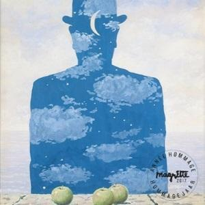 Magritte: Atomium Meets Surrealism