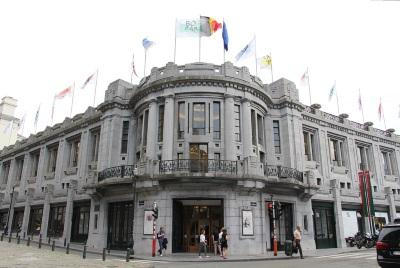 Het Paleis voor Schone Kunsten en het Koninklijk Salon