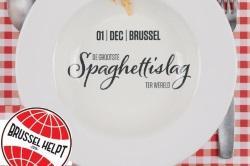 Paspartoe omruilvoordeel winteractie winter wintervoordeel spaghettislag Brussel Helpt spaghetti TADA