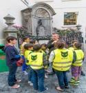 Stapstad wandelingen kinderen Brussel