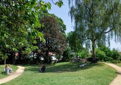 Elsene: Het Viaductpark
