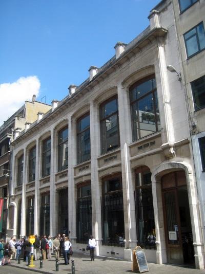 Waucquez warenhuis, transparant winkelen